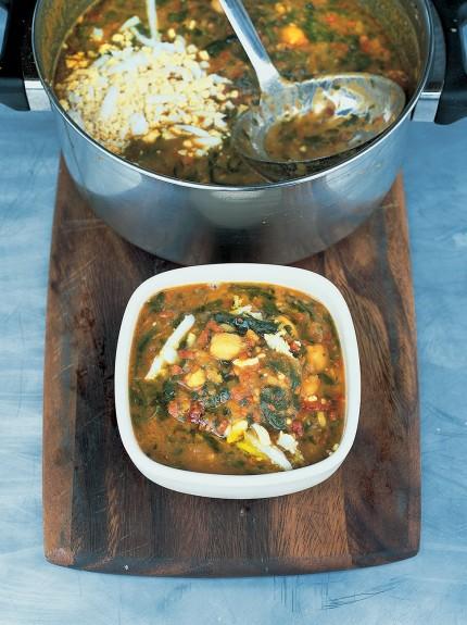 Sopa de Garbanzos y Chorizo