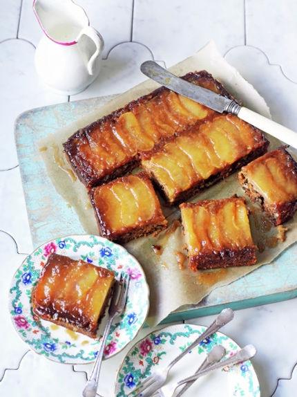 Receta vegana de queque de manzana