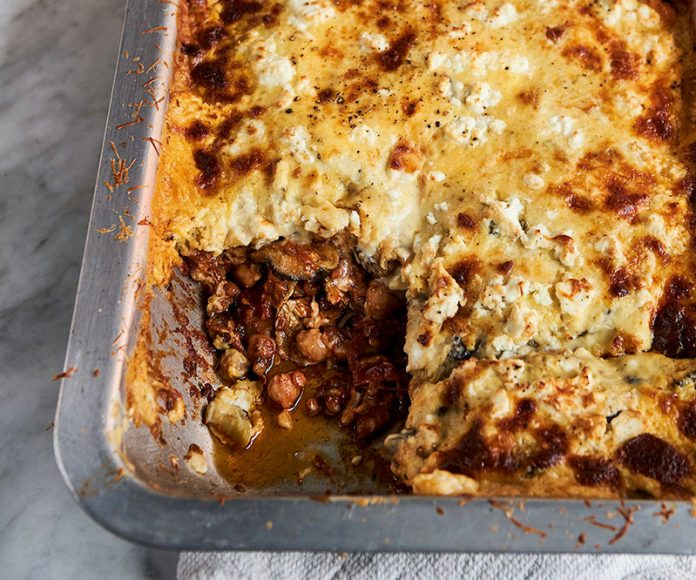 Moussaka Vegetariana de Jamie