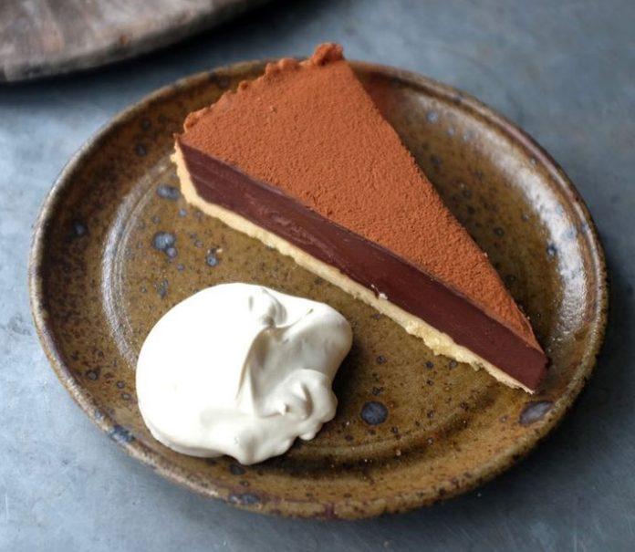 Una tarta para los amantes de chocolate