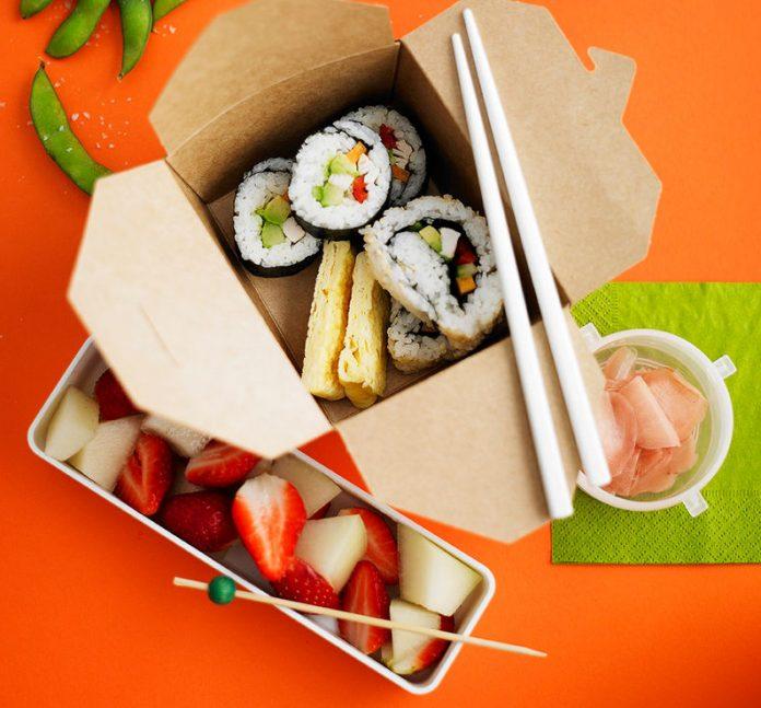 Rollos de Sushi al estilo de Jamie